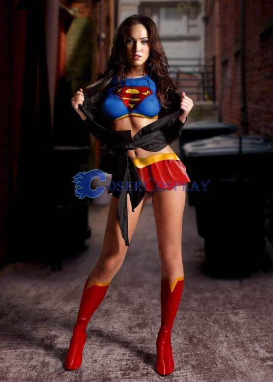 Superman Suit Sexy Halloween Costumes For Women